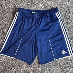 Adidas Mens Clima Cool Navy Athletic Shorts SZ.XL